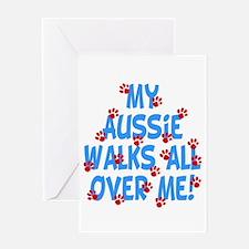Aussie Walks Greeting Card