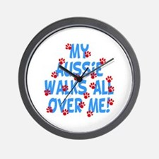Aussie Walks Wall Clock