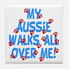 Aussie Walks Tile Coaster