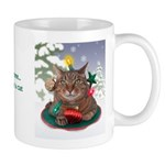 Cat-mas Tree Christmas Mug
