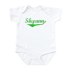 Shyann Vintage (Green) Infant Bodysuit