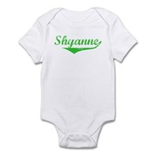 Shyanne Vintage (Green) Infant Bodysuit