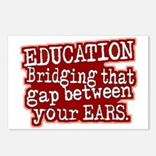 Maroon, Education Bridging The Gap Postcards (Pack