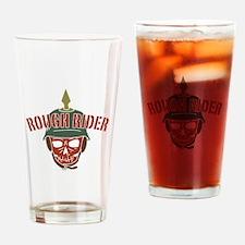 Rough Rider Pickelhaube Drinking Glass