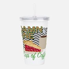 Fine Coffee & Pie Acrylic Double-wall Tumbler