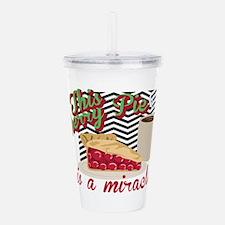 Miracle Cherry Pie Acrylic Double-wall Tumbler