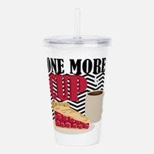 One More Cup Acrylic Double-wall Tumbler