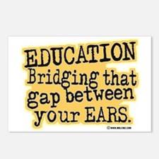 Beige, Education Bridging The Gap Postcards (Packa