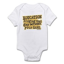 Beige, Education Bridging The Gap Infant Bodysuit