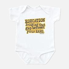 Beige, Education Bridging The Gap Infant Bodysuit