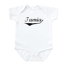 Tamia Vintage (Black) Infant Bodysuit