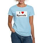 I Love Speech  Women's Light T-Shirt