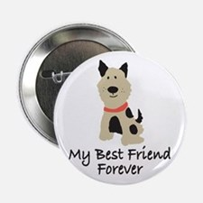 "Puppy Dog 2.25"" Button"