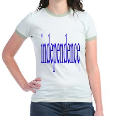 321. independence [blue] T