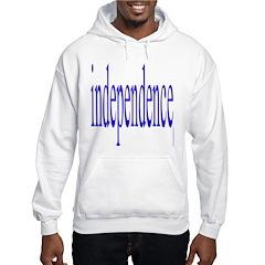 321. independence [blue] Hoodie