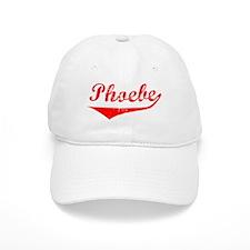 Phoebe Vintage (Red) Baseball Cap