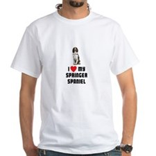 I Love My Springer Spaniel Shirt