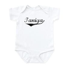 Taniya Vintage (Black) Infant Bodysuit