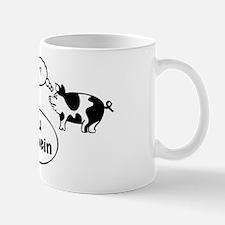 Du Schwein (black/white) Mug