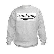 Taniyah Vintage (Black) Sweatshirt