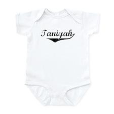 Taniyah Vintage (Black) Infant Bodysuit