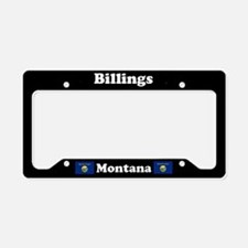 Billings MT License Plate Holder