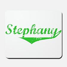 Stephany Vintage (Green) Mousepad