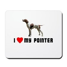 I Love My Pointer Mousepad