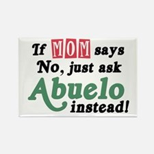 Just Ask Abuelo! Rectangle Magnet