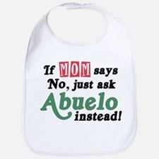 Just Ask Abuelo! Baby Bib