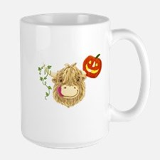 Wee Hamish Highland Cow Halloween Mugs