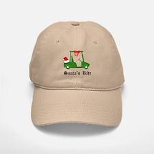 Santa's Golf Ride - Baseball Baseball Baseball Cap