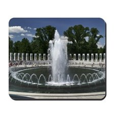 WWII Memorial Fountain Mousepad