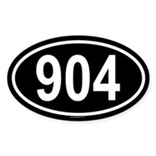904 Oval Decal