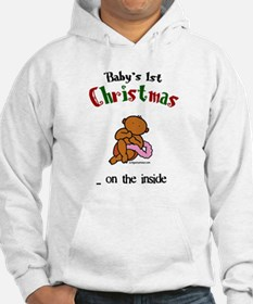 First christmas on the inside Hoodie