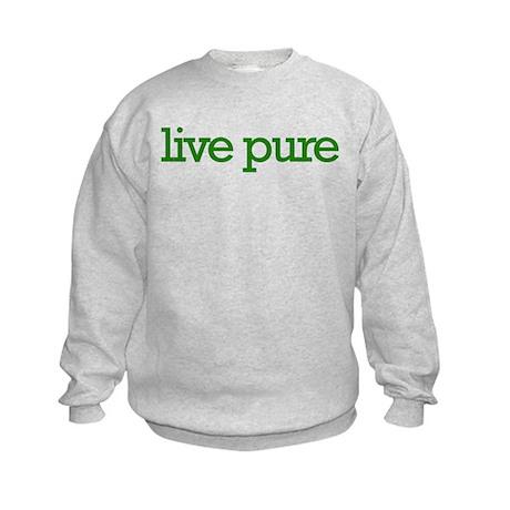 Live pure Kids Sweatshirt
