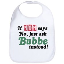 Just Ask Bubbe! Funny Baby Bib