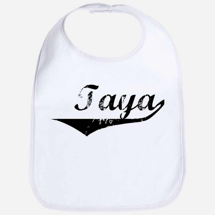 Taya Vintage (Black) Bib