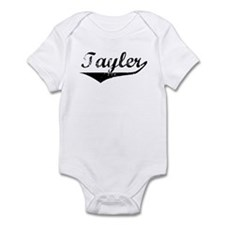 Tayler Vintage (Black) Infant Bodysuit
