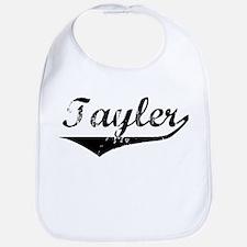 Tayler Vintage (Black) Bib