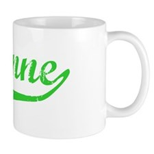 Suzanne Vintage (Green) Mug