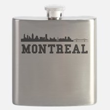 Montreal QC Skyline Flask