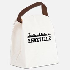 Knoxville TN Skyline Canvas Lunch Bag