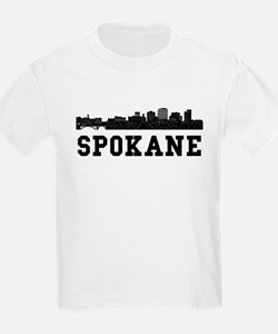 Spokane WA Skyline T-Shirt