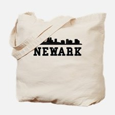 Newark NJ Skyline Tote Bag