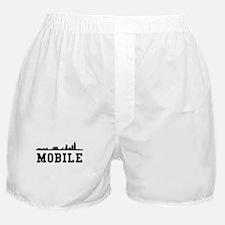 Mobile AL Skyline Boxer Shorts