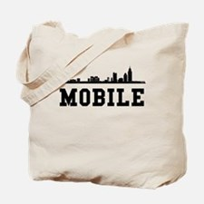 Mobile AL Skyline Tote Bag
