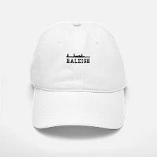 Raleigh NC Skyline Baseball Baseball Baseball Cap
