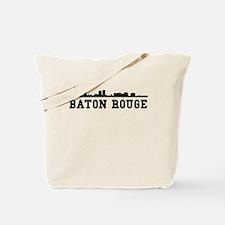 Baton Rouge LA Skyline Tote Bag