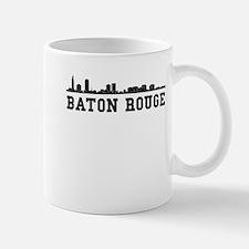 Baton Rouge LA Skyline Mugs